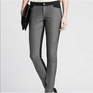 Banana Republic Sloan black and gray pants